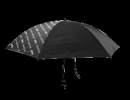 晴雨兼用 軽量折りたたみ傘(ブラック/エンジン柄)